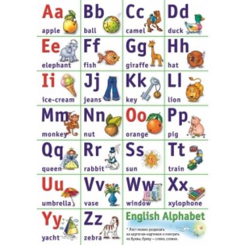 English Alphabet. Обучающая игра