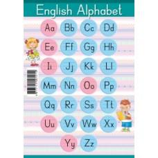 English Alphabet. Образцы письменных букв