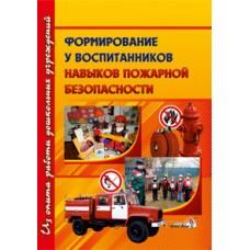 Формирование навыков пожарной безопасности у воспитаников ДУ
